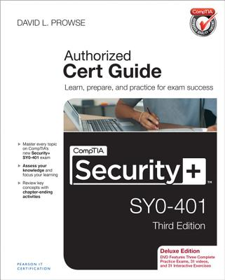 Comptia Security+ Sy0-401 Authorized Cert Guide By Prowse, David L.